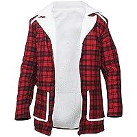 Aus Eshop Mens Ryan Reynolds Deadpool Wade Wilson Flannel Fur Shearling Red Cotton Jacket