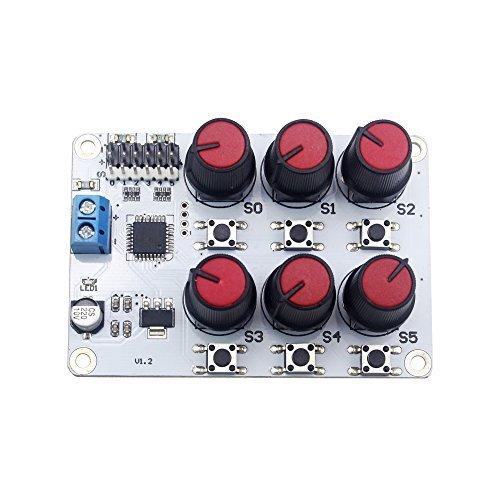LewanSoul 6チャンネルデジタルサーボテスター過電流保護付き