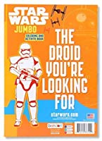 Star Wars The Force Awakens Colouring Book - Offer Includes 1 Book - 96 Pages - Great Holiday/Christmas Gift for Kids - BOOK MAY VARY