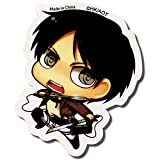 Sticker - Attack on Titan - New SD Eren Anime Toys Licensed ge55297