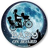 ママチャリ☆ BABY IN CAR ステッカー BABY ON BOARD 赤ちゃんが乗ってます ベビーinカー ベビーインカー(ステッカー)