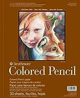 Strathmore STR-477-9 30 Sheet No.100 White Pencil Pad 9 by 12 [並行輸入品]