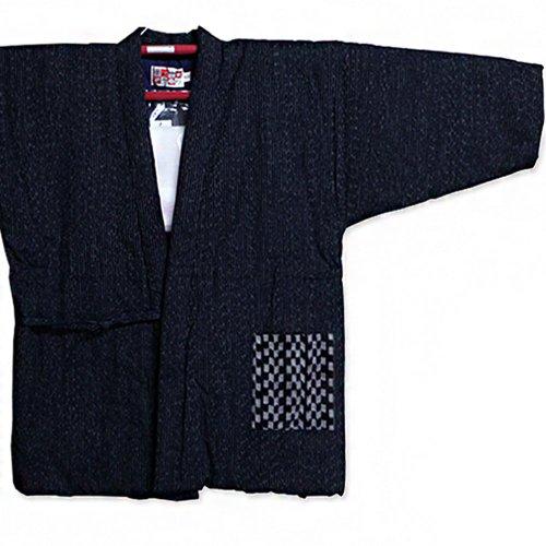 四つ紐前合わせはんてん ラグラン袢天 久留米手づくり 綿100%/宮田織物945x