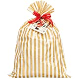 HEADSクリスマスギフトバッグラッピングセット-ストライプLL GDS-BLL-AS