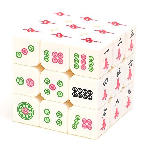 DCMA トイ ルービック キューブ 特殊 珍しい 3列 タイプ 麻雀牌 デザイン 1点