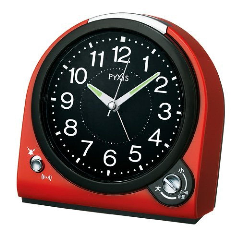SEIKO PYXIS (セイコーピクシス) クォーツ 目覚まし時計 置時計 NQ705R