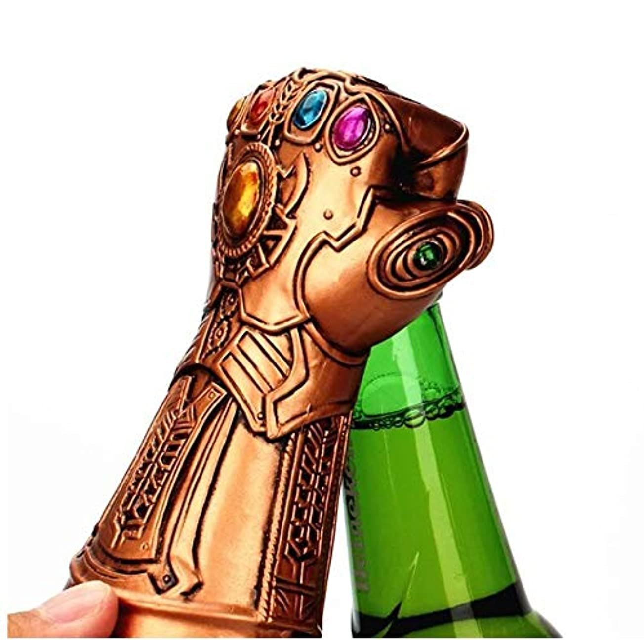 ビールオープナー - ワイヤレスウォータノスグローブビールオープナーワインボトルキャップ - バーパーティー誕生日ギフトコレクション (色 : Gold)