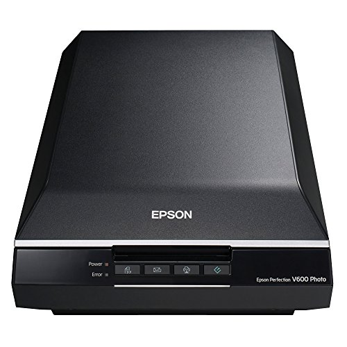 Epson Perfection V600 High Resolution 6400 x 9600 dpi Scanner