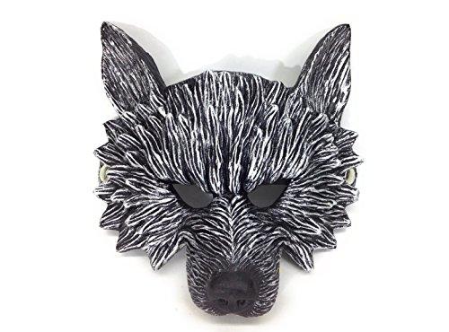 【VEERLIVE】 かっこいい オオカミ ハーフ マスク お面 ハロウィンなどに [並行輸入品]