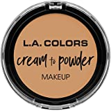 L.A. COLORS Cream To Powder Foundation - Nude (並行輸入品)