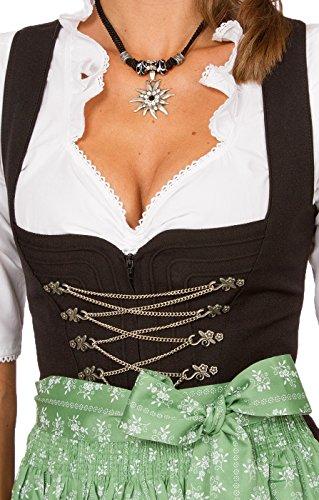 Stockerpointのチロリアン民族衣装 結ぶタイプの足首丈のディアンドルエプロンSC235 ビールガール メイド オクトーバーフェスト、グリーン、サイズ4 [並行輸入品]