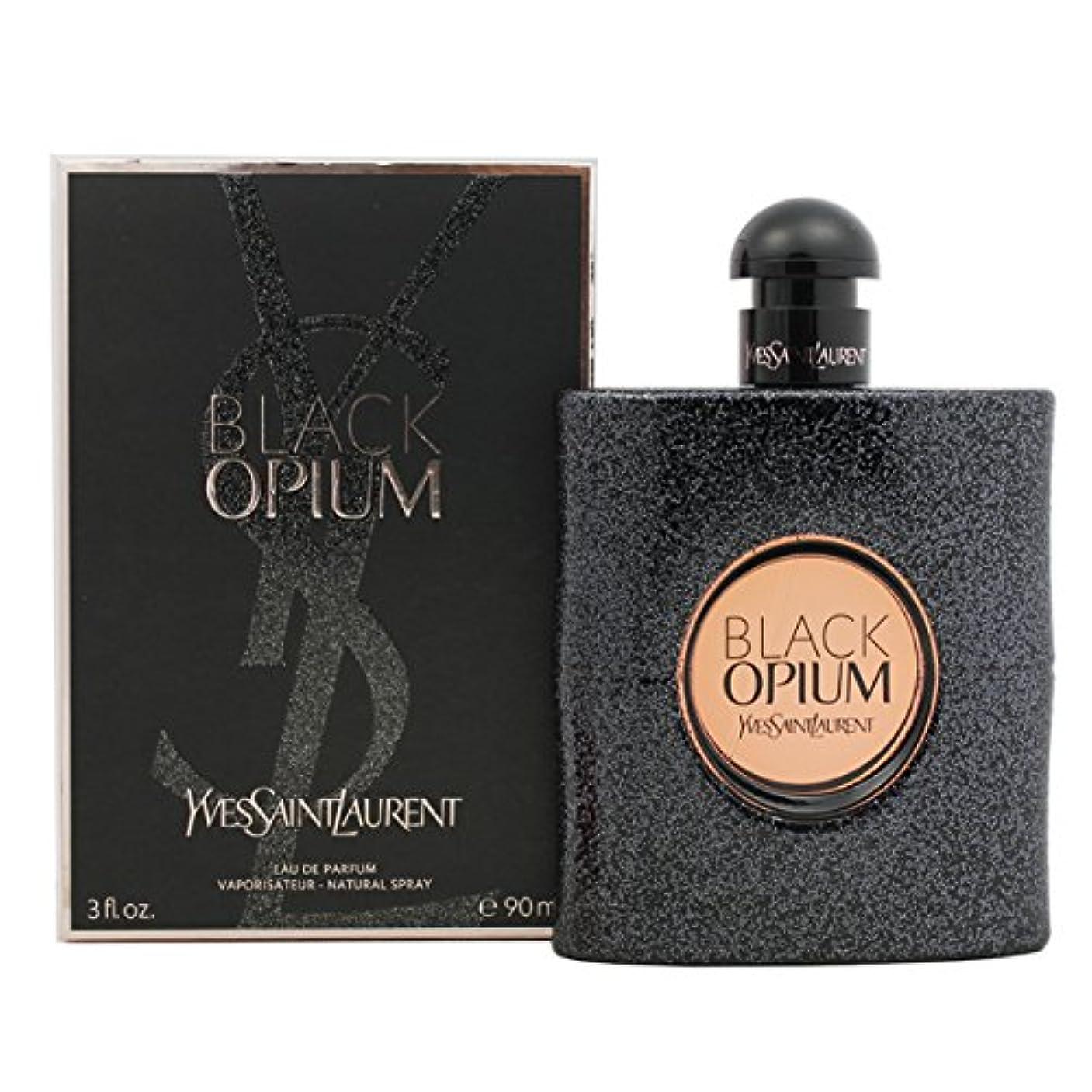 繁栄神広告主イヴ サンローラン YSL ブラック オピウム 90ml EDP SP fs