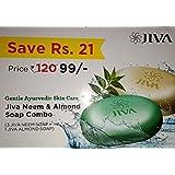Jiva Ayurveda Neem & Almond Soap Combo