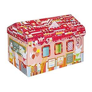 【ギフトセット】 出産祝い おむつボックス 女の子用 Mサイズ CBO-50GM