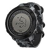 スント(SUUNTO) 腕時計 トラバース アルファ コンクリート 10気圧防水 GPS 気圧/高度/方位/速度/距離計測 [日本正規品 メーカー保証2年] SS023446000