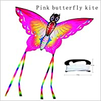 QiaoLiang Easy Fly Kite Butterfly Kite for Kids and大人