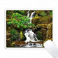 ヘブンリーフォールズ、ポートランド日本庭園、ポートランド、オレゴン、米国 PC Mouse Pad パソコン マウスパッド