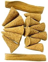 AliveハーブPalo Santo Incense Cones、12 Cones plus 2 Palo Santo Sticks