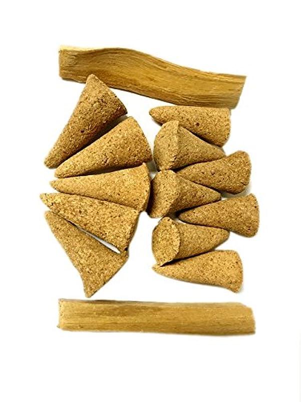 醸造所完璧な野なAliveハーブPalo Santo Incense Cones、12 Cones plus 2 Palo Santo Sticks