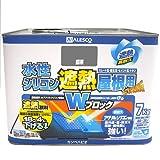 カンペハピオ 水性シリコン遮熱屋根用 銀黒 7K