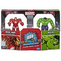 marvel battle masters super hero slam iron man vs hulk 2 pack 並行