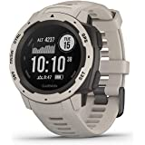 Garmin Instinct, Rugged Outdoor Watch with GPS, Features GLONASS and Galileo, Heart Rate Monitoring and 3-axis Compass, Tundr