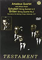 String Quintet in C / Britten: String Quartet #3 [DVD] [Import]