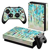 igsticker Xbox One X 専用 スキンシール 正面・天面・底面・コントローラー 全面セット エックスボックス シール 保護 フィルム ステッカー 012535