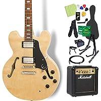 Epiphone LTD ES-335 Pro NA エレキギター 初心者14点セット マーシャルアンプ付き エピフォン