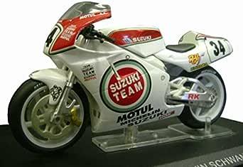 Ixo 1/24スケール バイクコレクション スズキ RGV500 1993 ケビン・シュワンツ
