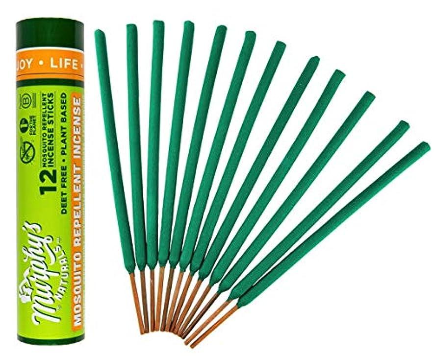 癌擁するにマーフィーのNaturals Mosquito Repellent Incense Sticks グリーン