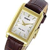 [オリエント] ORIENT 腕時計 クオーツ SUBUG004W0 シルバー/ダークブラウン レディース 海外モデル [逆輸入品]