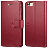71f1479384 iPhone6sケース アイフォン6 ケース 手帳型 TUCCH【改善版】PUレザー TPU素材