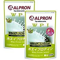 【2袋セット】アルプロン -ALPRON- WPI ホエイプロテイン ストロベリー風味 (3kg×2 計6kg)