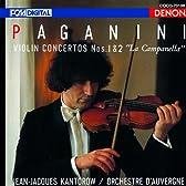 パガニーニ:ヴァイオリン協奏曲第1番・第2番