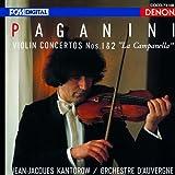 パガニーニ:ヴァイオリン協奏曲第1番・第2番  オーヴェルニュ室内管弦楽団, カントロフ, パガニーニ (日本コロムビア)
