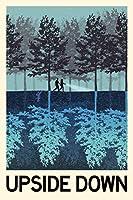 The Upside Downファンタジー旅行壁画ジャイアントポスター36x 54