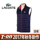 LACOSTE ダウン ダウンベスト メンズ ラコステスポーツ LACOSTE SPORT 日本正規品 2017 秋冬 ゴルフウェア bh0606