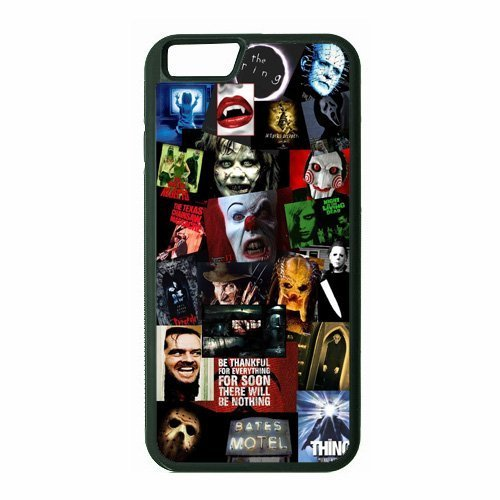 Horror Movie Collage iPhone 6 Plus Case Sherrys Stock Tm by Sherrys Stock TM Sherrys Stock TM