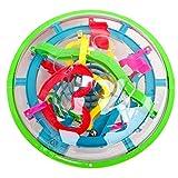 ディーマーク 3D迷路ゲーム UFOボール型立体パズル 99トリック 子供知育 おもちゃ