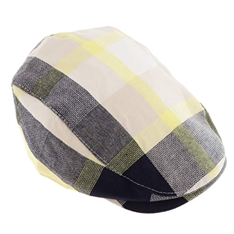 Fenteer ユニセックス 子供 ハンチング フラットキャップ ハット ハンチング帽 ベレー帽 通気性 全4色