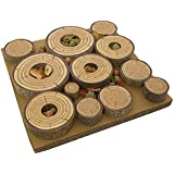 Rosewood Maze-A-Log Treat Challenge Toy for Small Animals