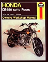 Honda CB650 SOHC Fours: 1978 to 1984 (Owners' Workshop Manual)