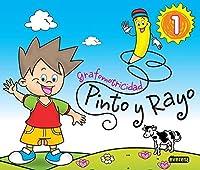 Pinto y Rayo, grafomotricidad, Educación Infantil. Cuaderno 1