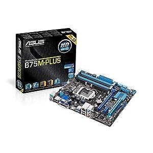ASUSTeK Intel B75搭載 マザーボード LGA1155対応 B75M-PLUS【microATX】