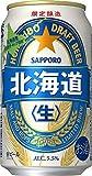 サッポロ 北海道生ビール [ 350ml×24本 ]