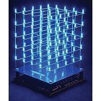 Velleman K8018B 3D Led Cube 5 X 5 X 5 (Blue Led) [並行輸入品]