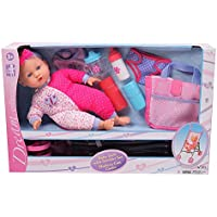 Gi-Go 14 Baby Doll with Stroller Set [並行輸入品]