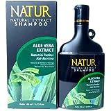 NATUR ナトゥール 天然植物エキス配合 ハーバルシャンプー 140ml Aloe vera アロエベラ [海外直商品]