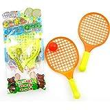 ラケットテニスセット 25個入り / お楽しみグッズ(紙風船)付きセット
